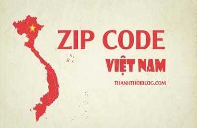 Hướng dẫn tìm Mã bưu chính 63 tỉnh thành Việt Nam (Zip Postal Code)