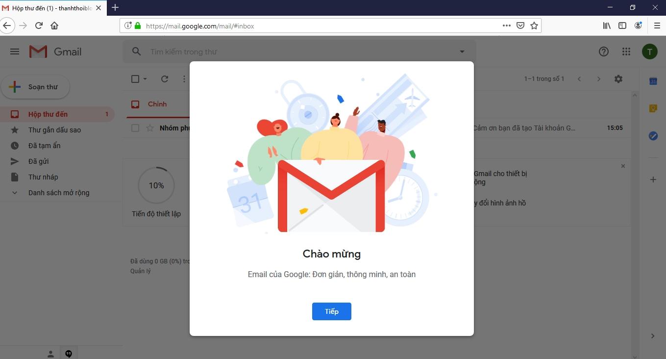 Hướng dẫn chi tiết tạo Gmail cho người mới sử dụng